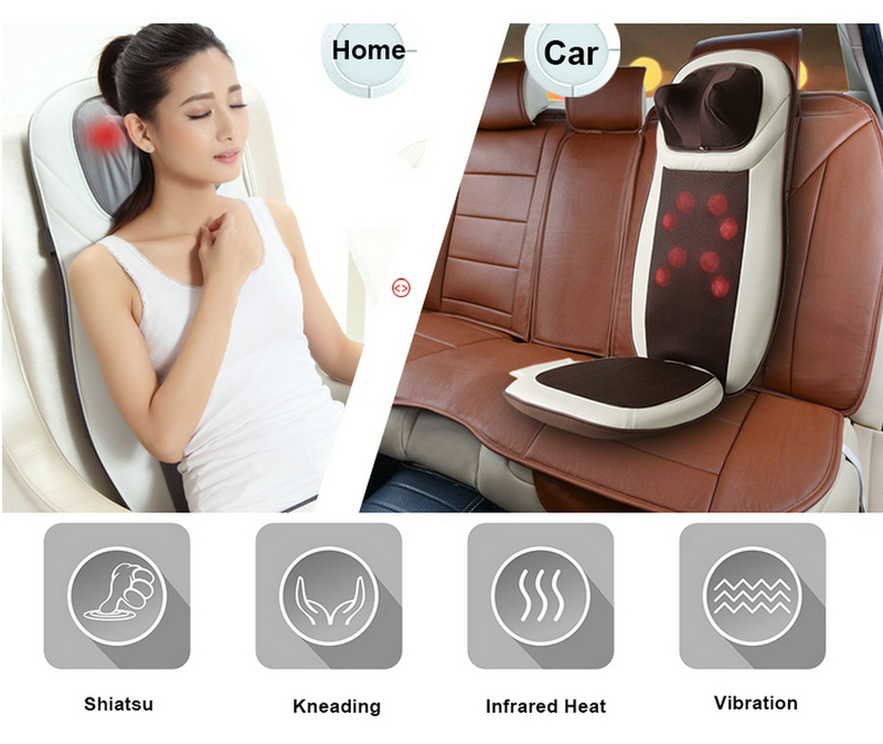 Full Touch Shiatsu Body Massage Cushion