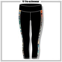 Colorful Women Cool Pattern Wholesale Capri Yoga Pants