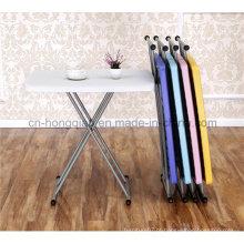 30 polegadas Home Furniture Altura ajustável Samll Children Study Desk, Outdoor Mesa de jantar dobrável para laptop, mesa de acampamento, mesa de jardim, mesa portátil