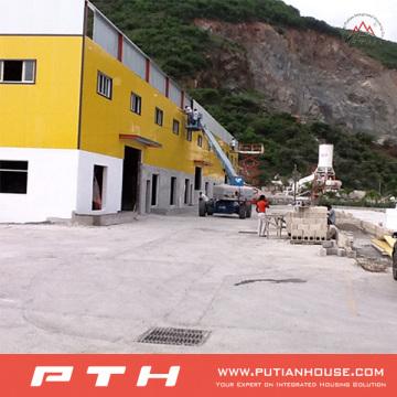 Entrepôt de structure en acier à faible coût industriel préfabriqué professionnel