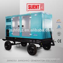 Weichai generator 50HZ 100kw 125kva mobile type diesel generator set