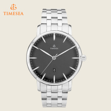 Homens Relógios casuais Men Water Resistant Steel Quartz Watch 72397