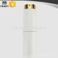 8ml/10ml small capacity twist type matte black color aluminum perfume bottle