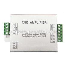 Amplificador do sinal de 12V 12A RGB para a luz de tira do diodo emissor de luz de SMD 3528 5050