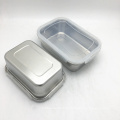 metal food grade square stainless steel canister set of 3