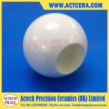 Kugelhahn aus poliertem Zirkoniumdioxid und Aluminiumoxid