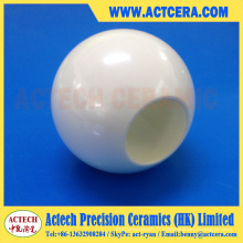 Clapet à bille poli en zircone et alumine