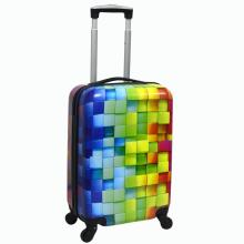 Cabin Size PC Printing Hard Shell Luggage