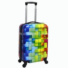 three dimension printing wheeled trolley luggage