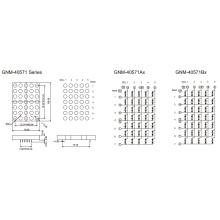4,0 дюйма, 10,0 мм DOT (GNM-40571Ax-Bx)