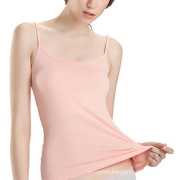 100% Soft Cotton Plain Sexy Women Singlet