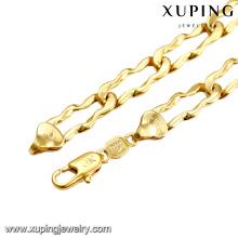 43620 xuping bijoux en alliage de cuivre costume costume chaîne collier cadeau pour hommes