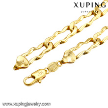 43620 xuping jewelry copper alloy costume fashion chain necklace gift for men