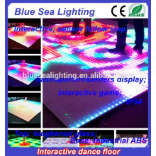 Disco sensitive dmx make lighted outdoor dance floor