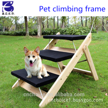 Wooden Pet climbing frame, Foldable,climbing ladder for dog or cat