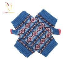 Gants de laine d'hiver pas cher de haute qualité enfant filles sans doigts