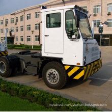 Original China factory directly sale in dock manual transmission tractor trailer trucks high quality cheap price to Africa