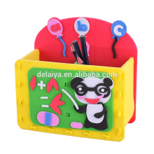 Children Creative Handmade DIY EVA Lovely Pen Holder