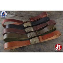 Boucle en laiton haut de gamme Chaussure en cuir véritable de qualité supérieure en cuir véritable Hommes