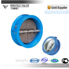 Grey iron water wafer butterfly check valve Ductile iron hydraulic spring loaded butterfly water pressure reducing valve