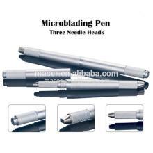 Whoelsale Preis Aluminium Eyebrow Microblading Tools / 3d Tattoo Pen, Augenbraue Stickerei Handstück Handbuch