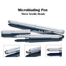 Whoelsale Preço Alumínio Sobrancelha Microblading Ferramentas / 3d Tattoo Pen, Eyebrow Bordados Handpiece Manual
