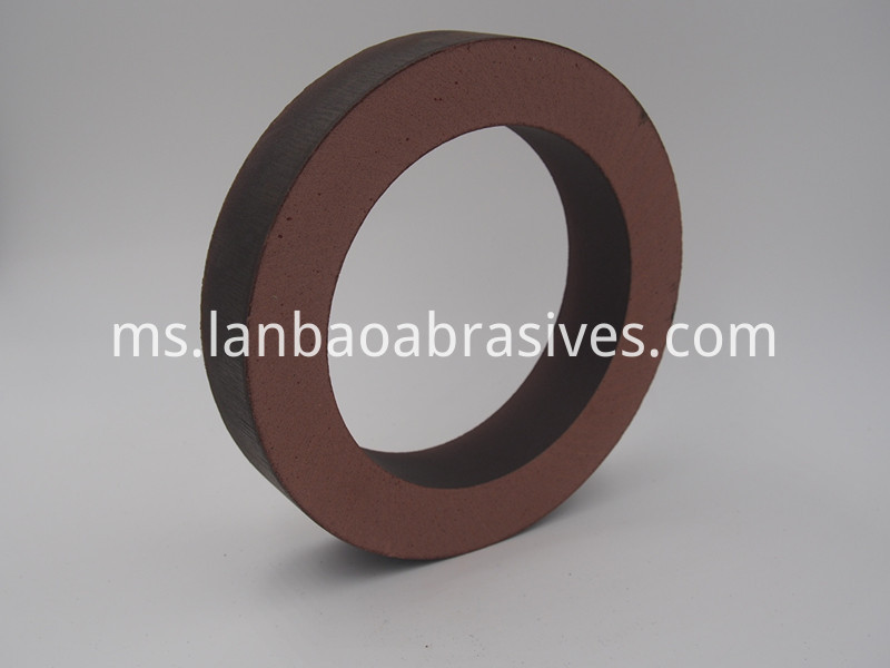 Detail of BD polishing wheel for glass