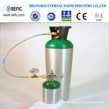Small Portable Beverage Aluminum Gas Cylinder