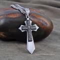 Ожерелье оптовая популярных Хип-Хоп ювелирные изделия Кулон Мужской крест