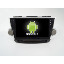 Manufacturer Quad core! Android 5.1/6.0 Car DVD Player for Toyota Highlander 2011 2012 2013 with Bluetooh IPod Mirror Audio