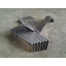 Punched Heavy Sheet Metal Bending Parts China Factory