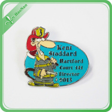 Eco-Friendly Lovely 3D Feature Plated label Pin for Souvenir Use