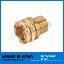Colocación de alta calidad del PPR del hexágono de cobre amarillo (BW-726)