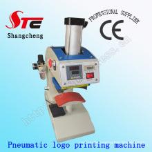 CE Approved Automatic Pneumatic Hat Heat Transfer Press Machine 8*15cm Pneumatic Cap Heat Printing Machine Stc-Qd13