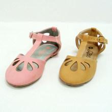 Корейский девочек платье обувь дизайн одежды полые из весны и осени детская обувь оптом