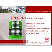 DOT Matrix Display Aufzug Anzeigetafel (SN-DPC1)