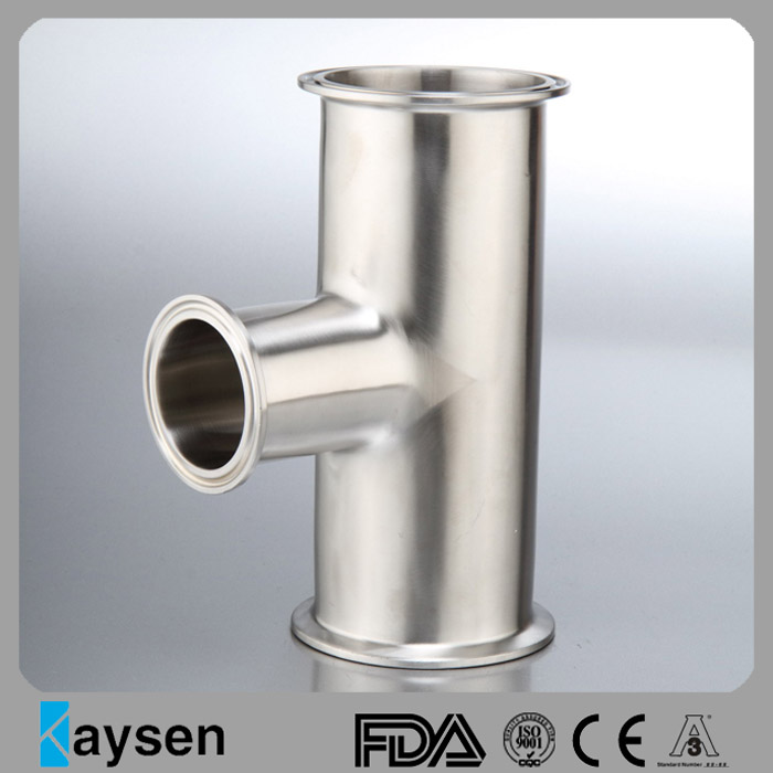 DIN Hygienic Clamp Reducing Tee