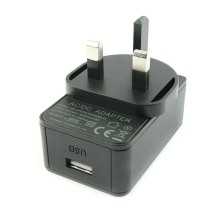 Adaptador de corriente de puerto USB 5V 2.5A - enchufe UK