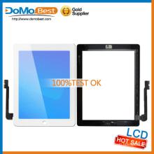 ¡Descuento!!!!!! para iPad 4 completa táctil Touch + Homebutton + adhesivo