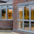 aluminium windows and doors triple glaze windows burglar proof window
