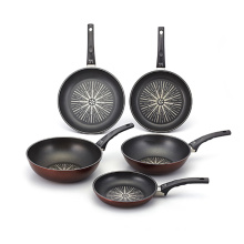 Korea Aluminum Die Cast Titanium/Stone Cookware