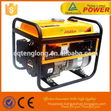 Portable 1kw gasoline generator with spare parts for sale