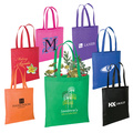 nonwoven black eco bag for shopping