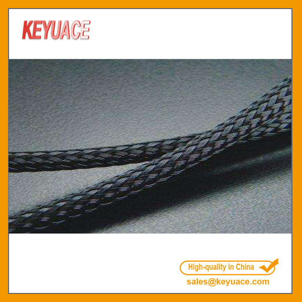 PET Kabel Diupgrade Sleeving Dikepang