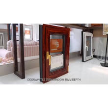 Aluminum double glass windows prices for residential