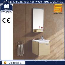 Modern Melamine MDF Wall Mounted Bathroom Cabinet Set