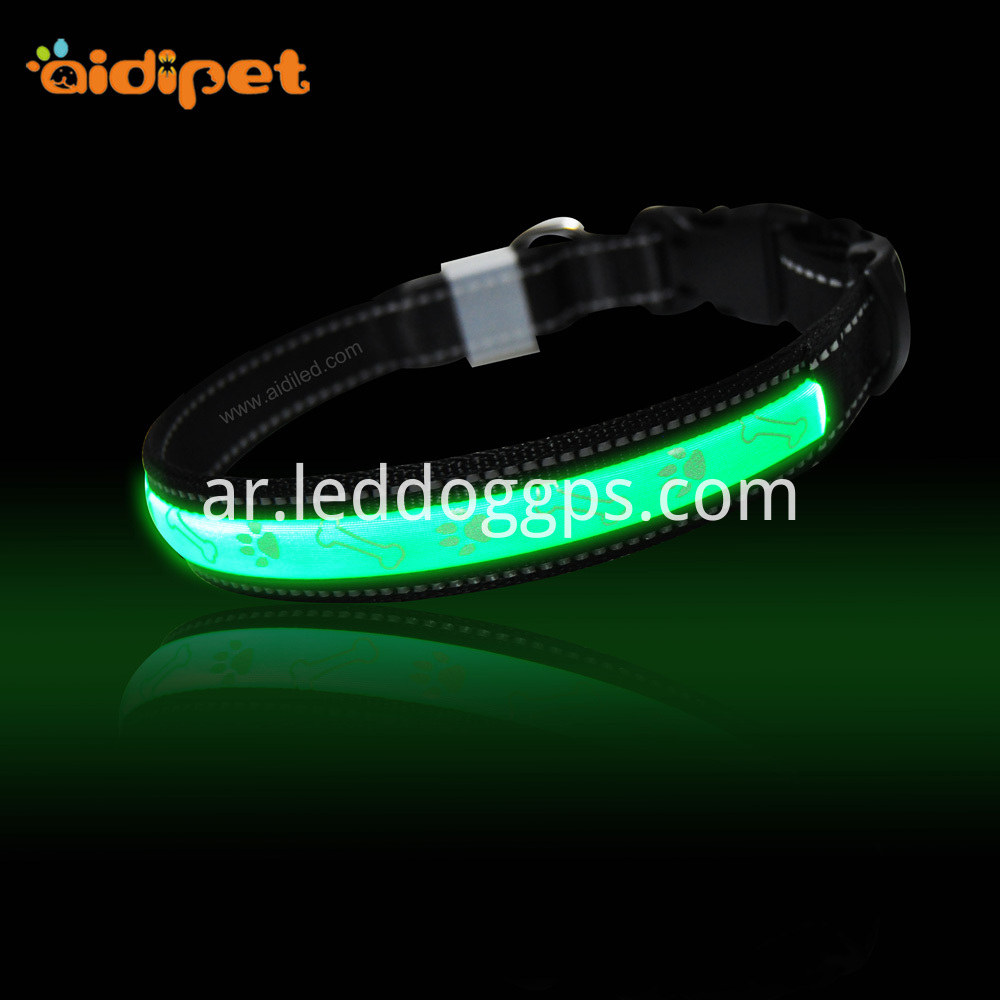 Usb Glow In The Dark Dog Collar