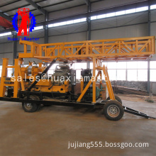 XYX-44A Wheeled type core Drilling machine , tricycle tractor drilling rig machine