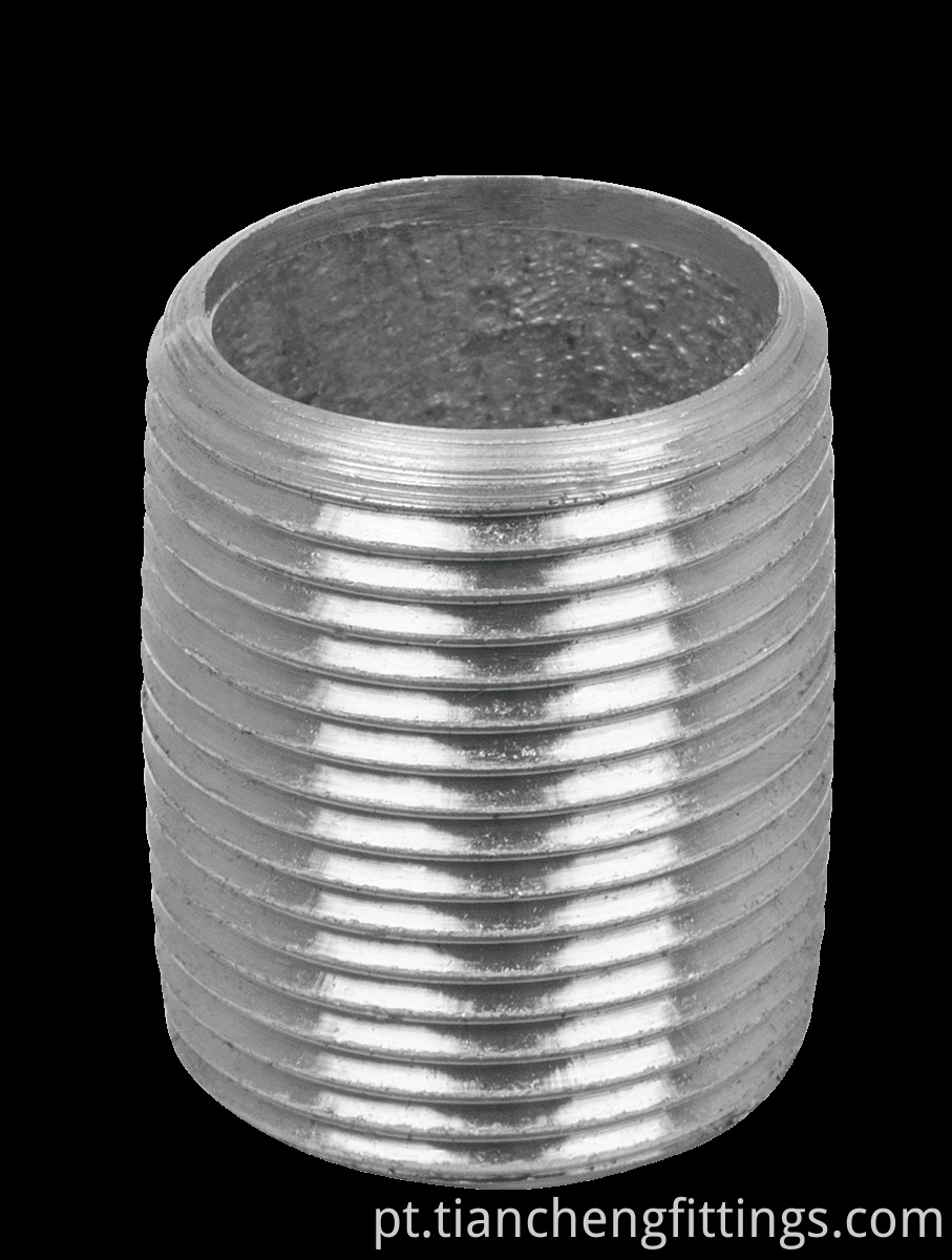 Galvanized Barrel Nipple