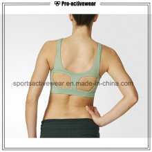 OEM Moda Colored Mulheres Fitness Wear Sports Bra Sexy Yoga Wear